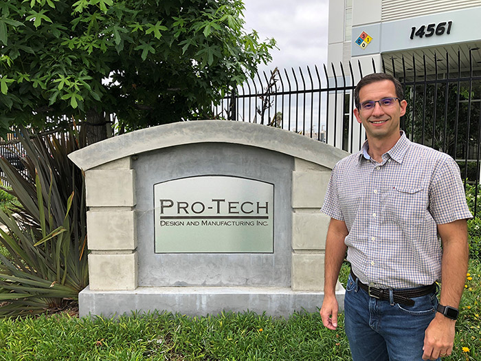 PRO-TECH Design Team Member Spotlight:  Roberto Fonseca, Engineering and Technology Manager