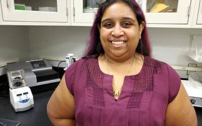 Priya Revindran, Laboratory Services Supervisor