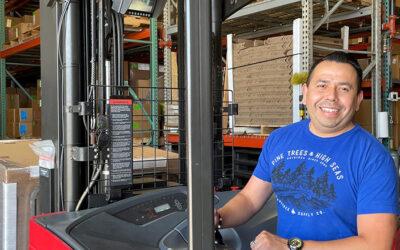 Alejandro Flores, Shipping & Receiving