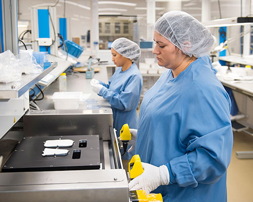 MEDICAL DEVICE CONTRACT ASSEMBLY